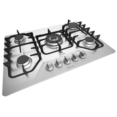 Image for Gas hob with 5 burners