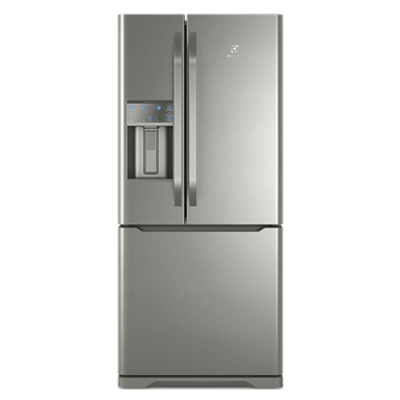 Image pour Refrigerator French Door Water and Ice Dispenser 538L Stainless Steel