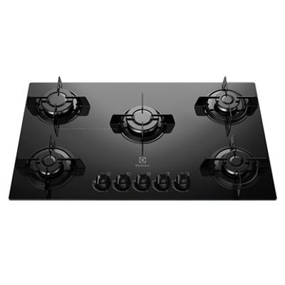 Image pour Gas hob with 5 burners