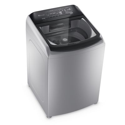 imagen para Washer 17kg Perfect Care 17kg Silver  With Hot Water, Steam And Touch Panel