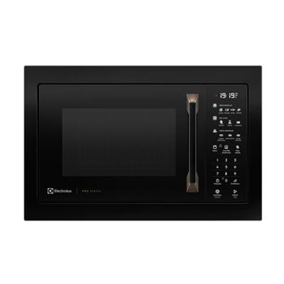 Image pour Pro series built-in 34l black microwave
