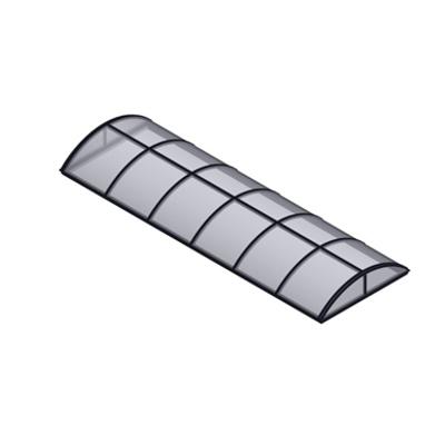Immagine per Continuous Vault Skylight System, Barrel Vault