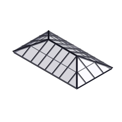 Image for Extended Pyramid Skylight – Glass