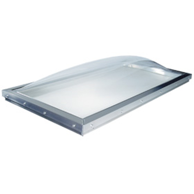Image for Commercial Custom size Curb Mount Domed Skylight (CT/CS) for roof slopes 0 - 60 degrees