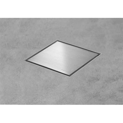 画像 Square shaped shower drain - Aqua Jewels Quattro