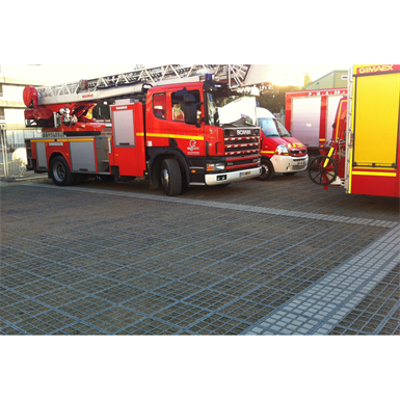 Image for Firemen access on fertile foundation  - complete O2D system