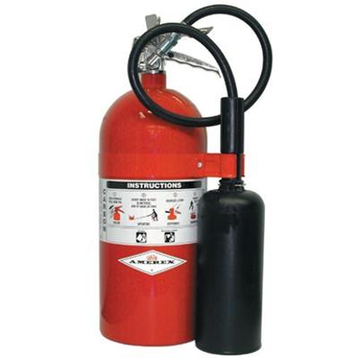 Image for Amerex 330 10lb Carbon Dioxide Class B C Fire Extinguisher