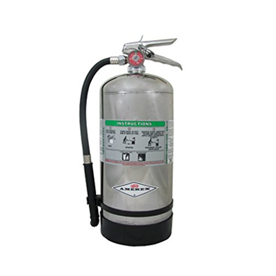 Image for Amerex B260 6 Liter Wet Chemical Class A K Fire Extinguisher