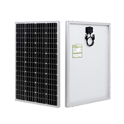 Image for HQST 100D-SSP 100 Watt 12 Volt Monocrystalline Solar Panel
