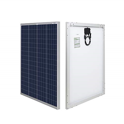 Image for HQST 100P 100 Watt 12 Volt Polycrystalline Solar Panel