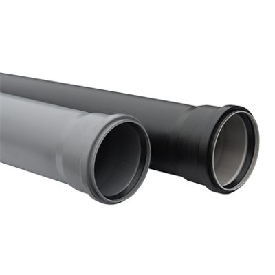 Image for Single socket pipe for sanitary systems