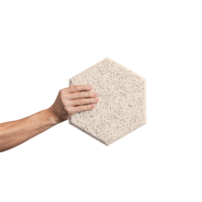 Image for BAUX Acoustic Wood Wool Hexagon