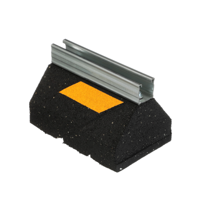 Image for C510 & C6 Rubber Support with Raised 1 5/8″ Galvanized Steel Channel
