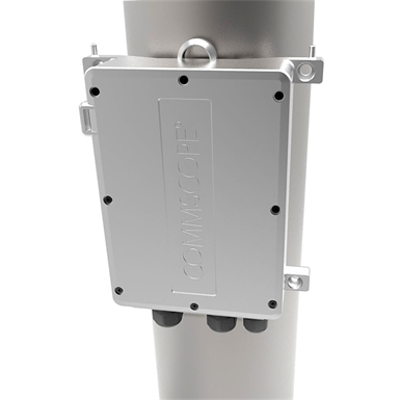 Image for Power Extender, Universal Mount, Outdoor, 60 Watt, 12 Vdc, Fiber Pass Through : PFU-12-C-O-060-01
