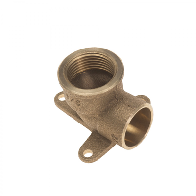 Image for Conex Delcop End Feed-Female Wall Plate Elbow (3 Hole)-DB70735