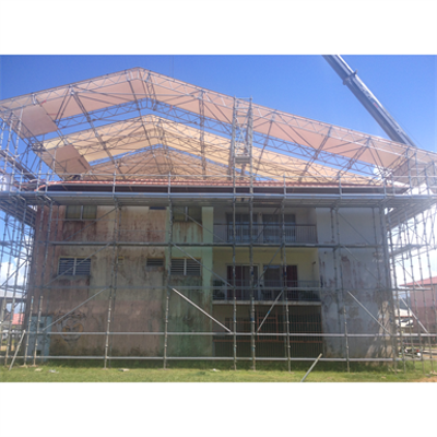 Image for Asymmetrical Temporary Roof - Middle