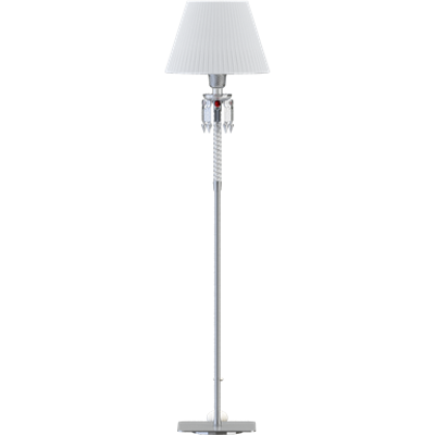 Torch Small Floor Lamp White lampshade 이미지