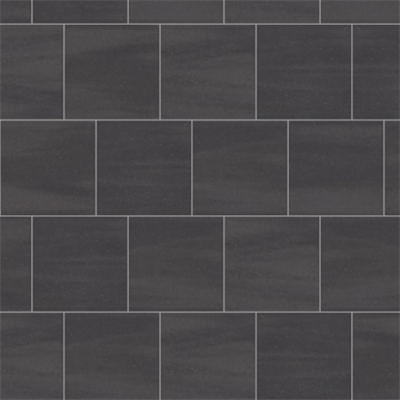 Image for Mosa Solids - Graphite Black - Wall tile surface