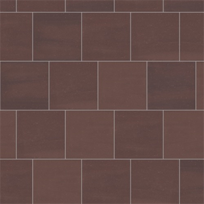 Image for Mosa Solids - Rust Red - Floor tile surface