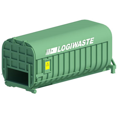 Image for Compactor container, 30m³, 400/500 mm