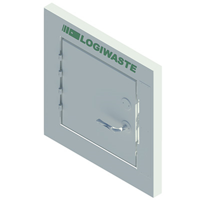Image for Manual Waste And Laundry Inlet Door 350x350, DN 400
