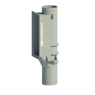 Image for Automatic  waste and laundry inlet chute connection, DN 500