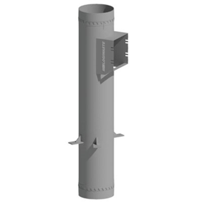 Image for Manual waste and laundry inlet chute connection, DN 400
