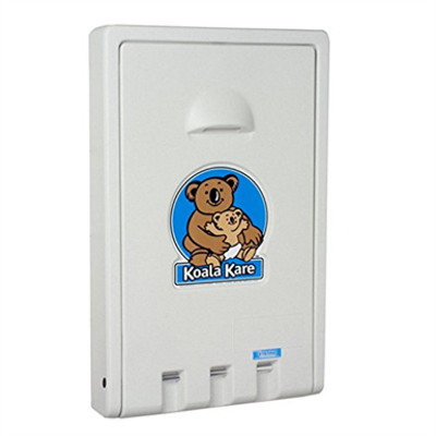 Image for Koala Kare KB101 Vertical Wall Mounted Baby Changing Station