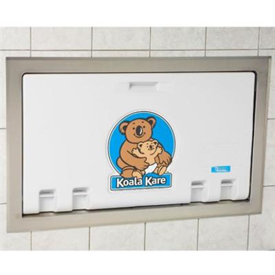 Image for Koala Kare KB100-ST Horizontal Recess Mounted Baby Changing Station