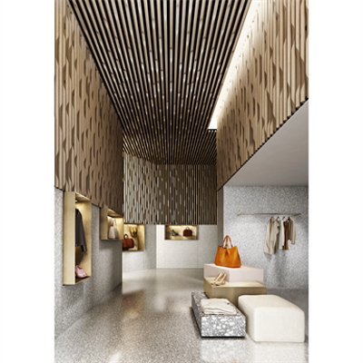 Image for LINEA 3D EDGE Suspended ceiling