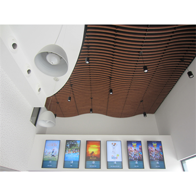 Image for LINEA SWELL Suspended ceiling