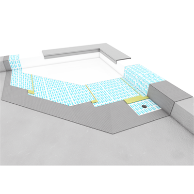 Image for SYSTEM FOR WATERPROOFING COVERINGS, ROOF TERRACES AND GREEN ROOF
