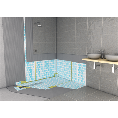 Image for SYSTEM FOR WATERPROOFING BATHROOMS AND WELLNESS AREAS