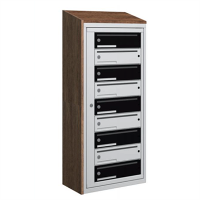 Image for Coverplate side, units with mailshelf for boxes typ 1 and typ 3, high 6
