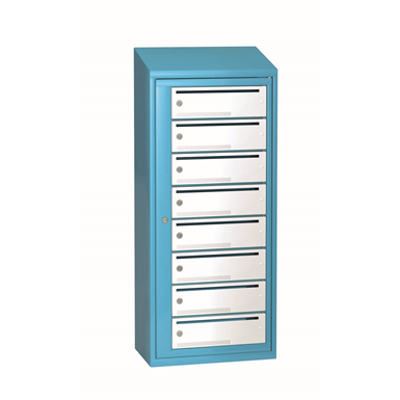 Image for Mailbox typ 1 single section 8 boxes