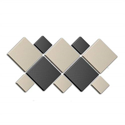 """Image for Acoustimac DMD Butterfly Acoustic Design Pack: 10 Pcs - (5) 2'x2'x2"""" (5) 1'x1'x2"""" 3-stone & 2-charcoal"""