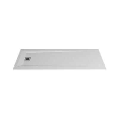 Image for ROCKS 2000x800x30 self-standing rectangular shower tray (w/ anti slip)