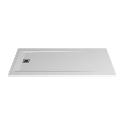 Image for ROCKS 1900x900x30 self-standing rectangular shower tray (w/ anti slip)