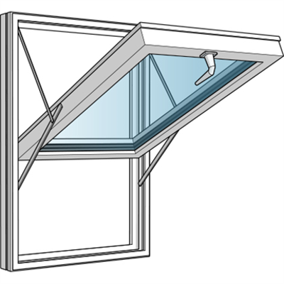 Image for Top Hung fully reversible window