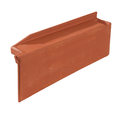 Immagine per Q11 - Straight right side course / Rake - Mixed roof tile