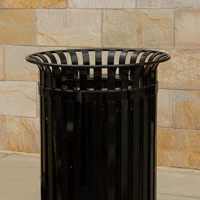 Image for CityView Vertical Strap Trash Receptacles