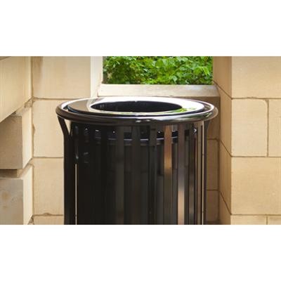 Image for Newport Vertical Strap Trash Receptacles