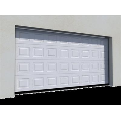 Image for 012 Porte basculante SAFIR S400 Iso avec cassettes blanches