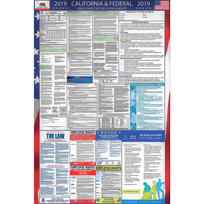 Image for 2020 California and Federal Labor Law Poster
