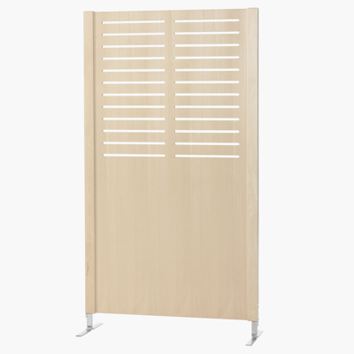 Image pour Wooden screen FREE 940x1720mm