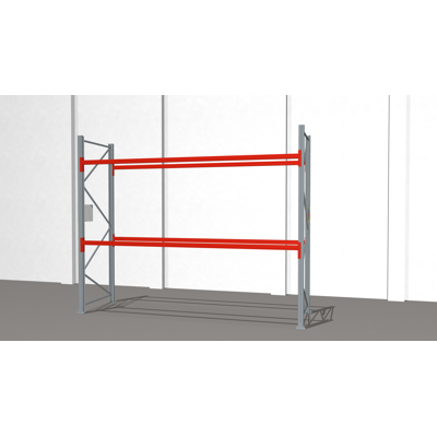 Image for Pallet racking ULTIMATE 2500x3600x1100mm 12x1000kg pallets