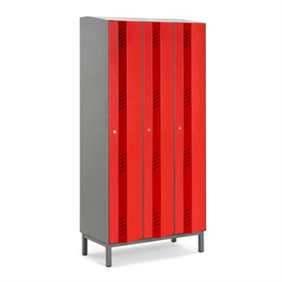 Image for Clothing Locker Create Energy 900mm 3 Sections 3 Doors