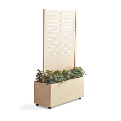 Image pour Wooden screen FREE 1720x983mm with flower box