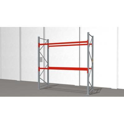 Image for Pallet racking ULTIMATE 2500x2750x1100mm 9x1000kg pallets