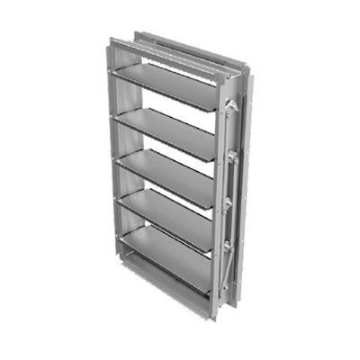 Image for CD50DC Extruded aluminum airfoil blade damper (Data Center)